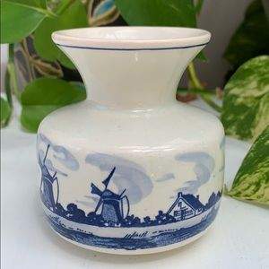 Vintage Blue Vase, Home Decoration